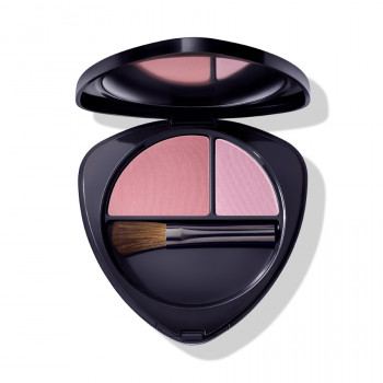 Dr. Hauschka make-up rouge Blush Duo 02 dewy peach