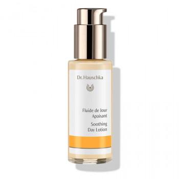 Dr.Hauschka Fluide de Jour Apaisant - renforce la peau sujette aux rougeurs et réactive