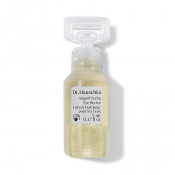 Lotion Fraîcheur pour les Yeux, avec compresses inclues Dr.Hauschka